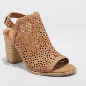 Universal Thread Women's Milliana Heeled Booties
